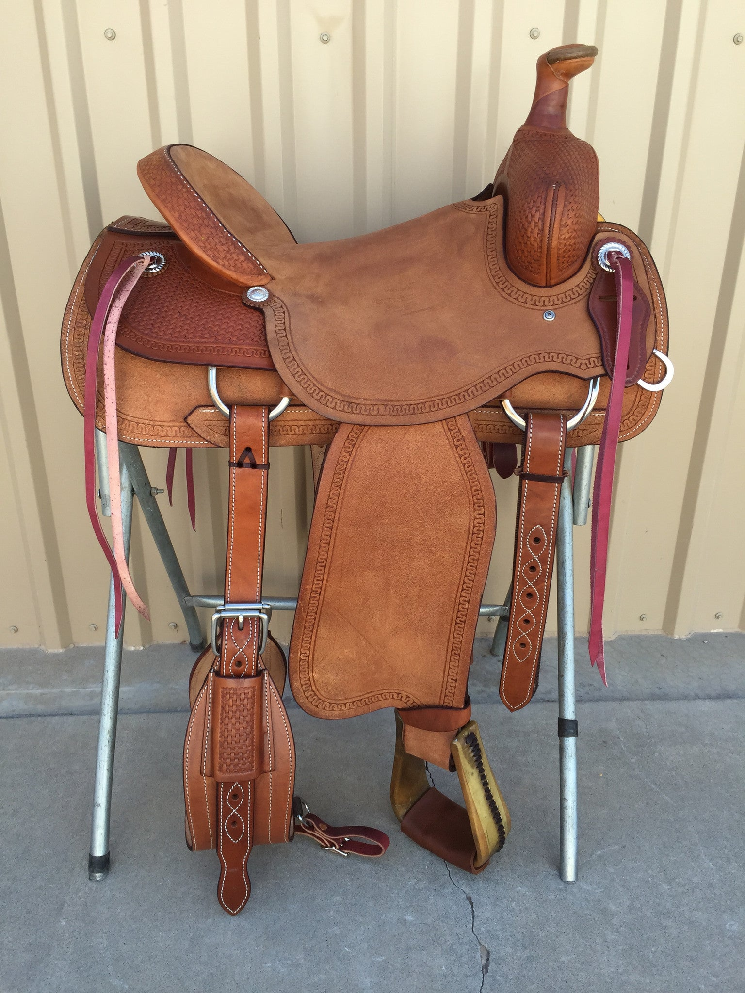 Corriente Ranch Association Saddle SB331 - The Sale Barn - 1