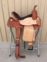 Corriente Barrel Racing Saddle SB514 - The Sale Barn - 1