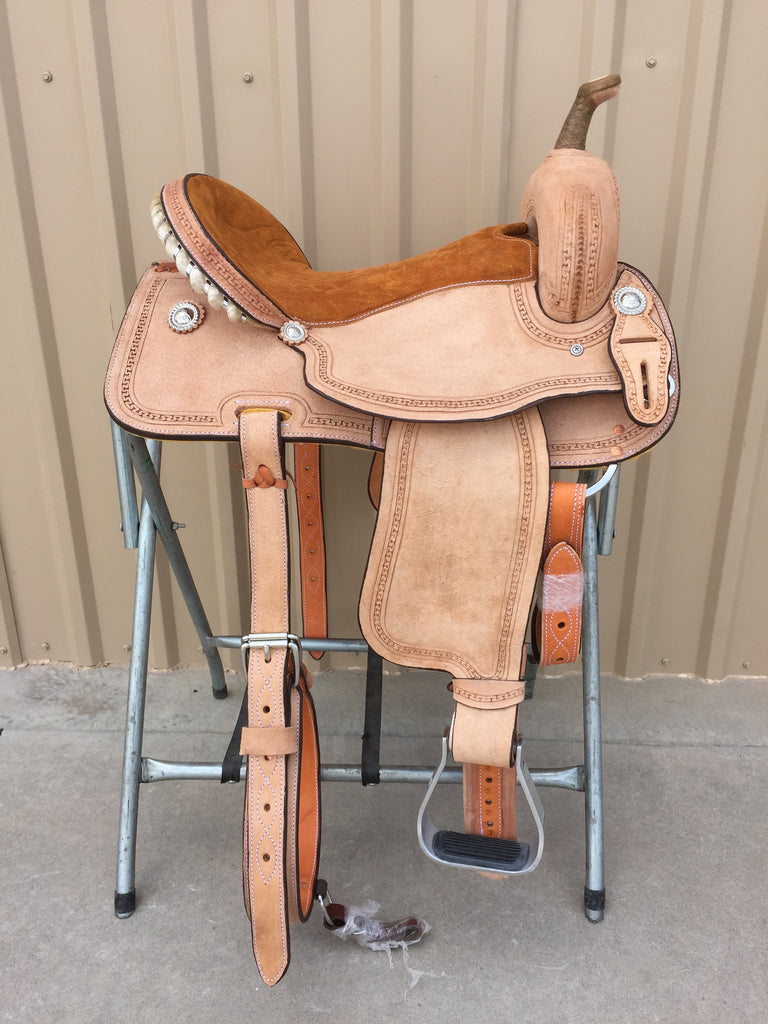 Corriente Barrel Racing Saddle SB515