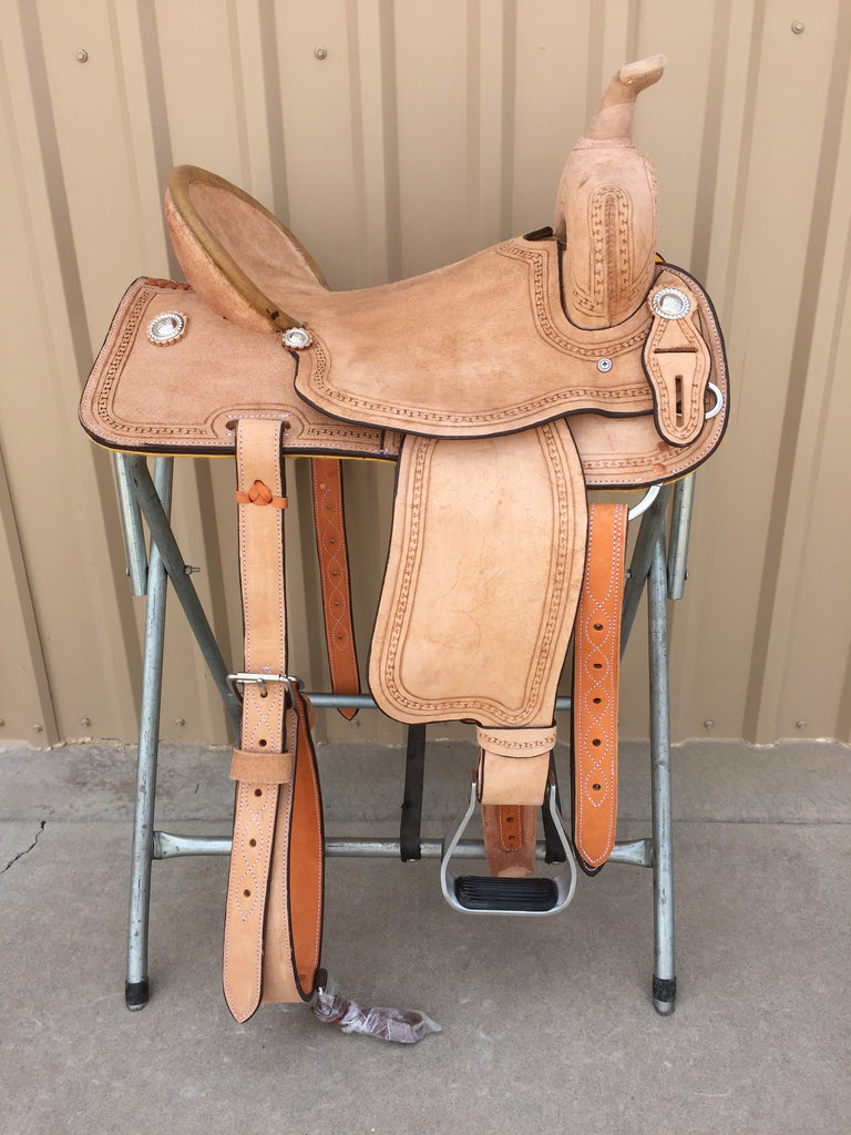 Corriente Barrel Racing Colt Breaking Saddle SB518