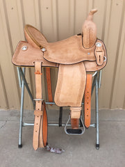 Corriente Barrel Racing Colt Breaking Saddle SB518 - The Sale Barn - 1