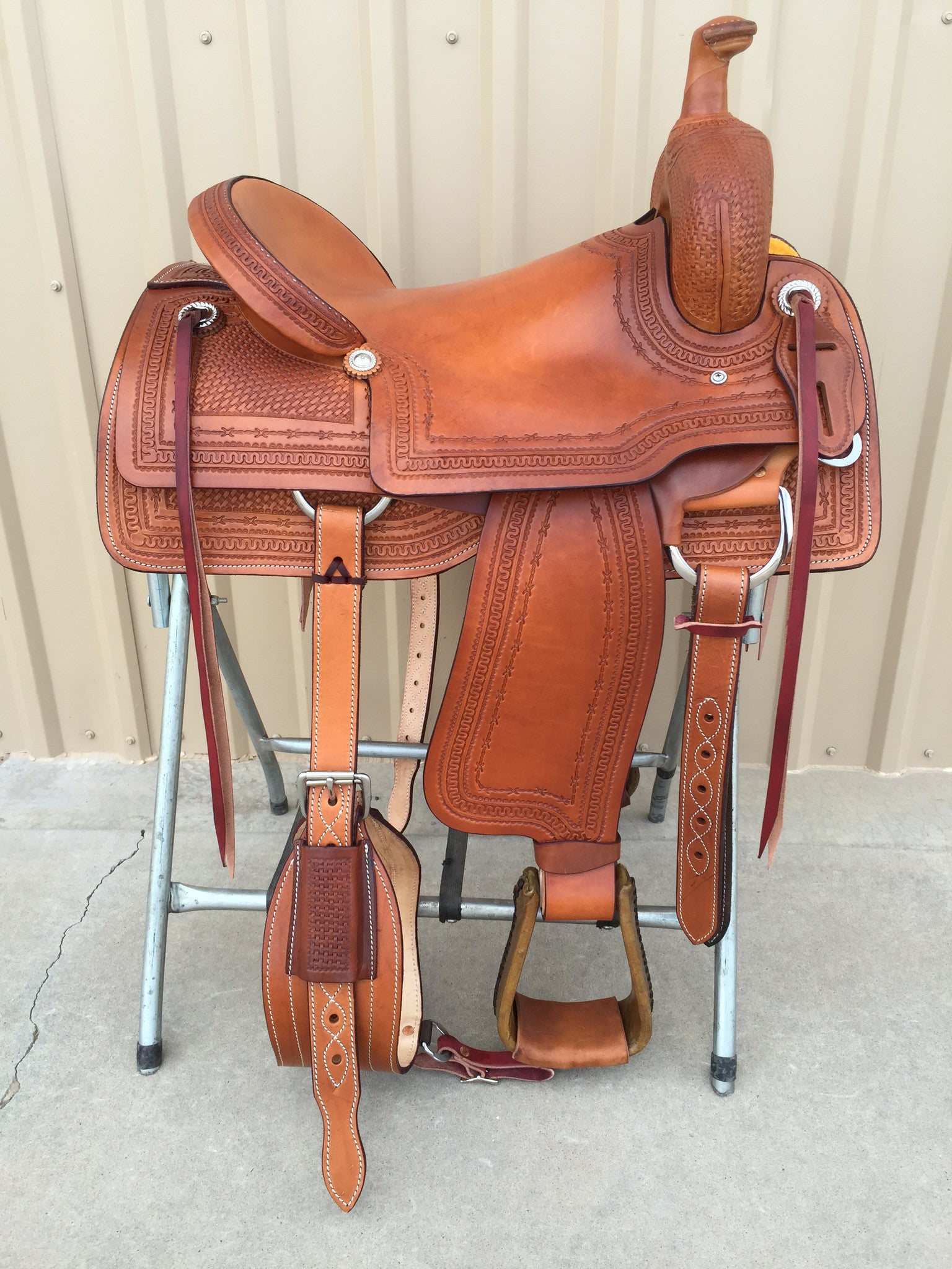 Corriente Ranch Cutter Sorting Saddle SB931 - The Sale Barn - 1
