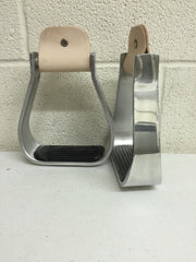 Aluminum Barrel Stirrups - The Sale Barn - 1