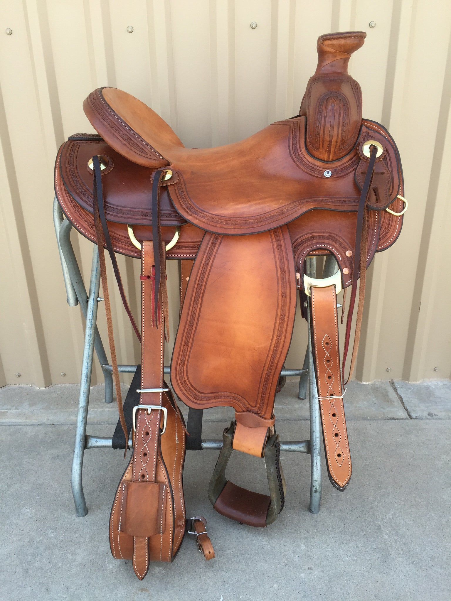 Corriente Ranch Association Saddle SB337 - The Sale Barn - 1