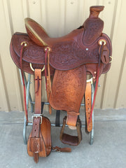 Corriente Ranch Wade Saddle SB400 - The Sale Barn - 1