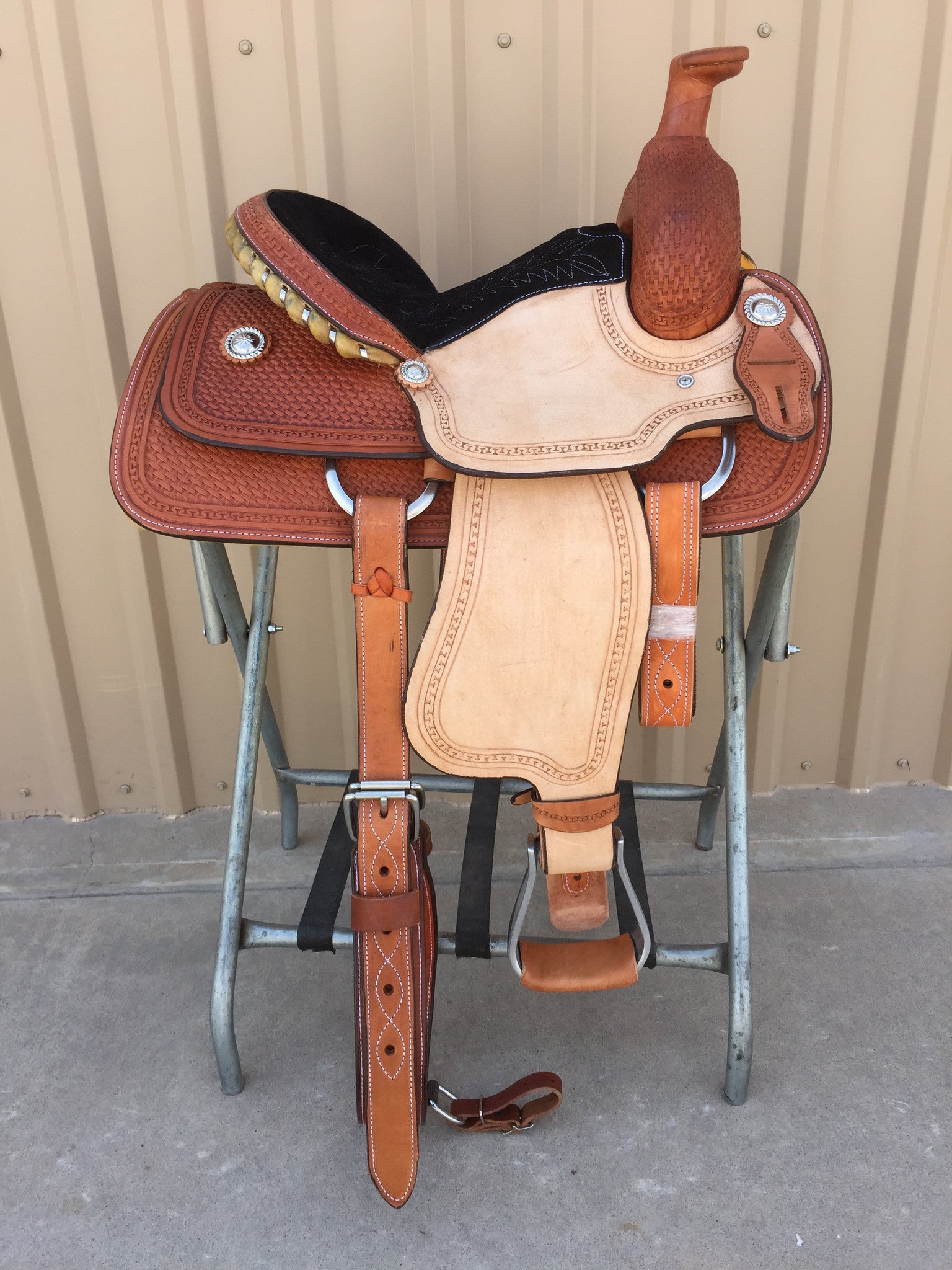 "Corriente 13"" Youth Kids Roper SB720 - The Sale Barn - 1"