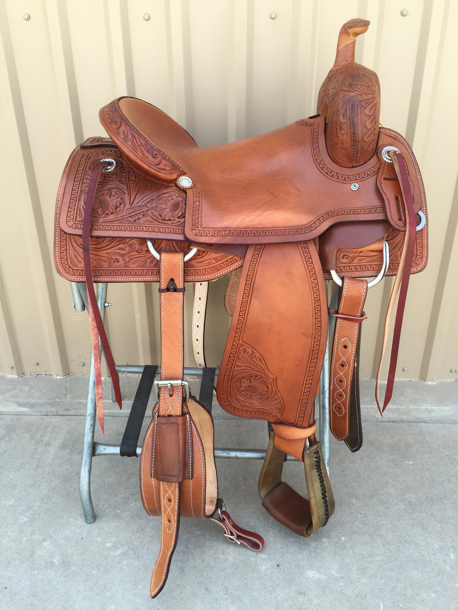 Corriente Ranch Cutter Sorting Saddle SB920 - The Sale Barn - 1
