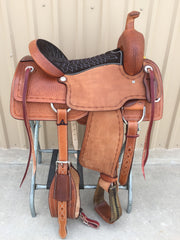 Corriente Ranch Cutter Sorting Saddle SB908 - The Sale Barn - 1