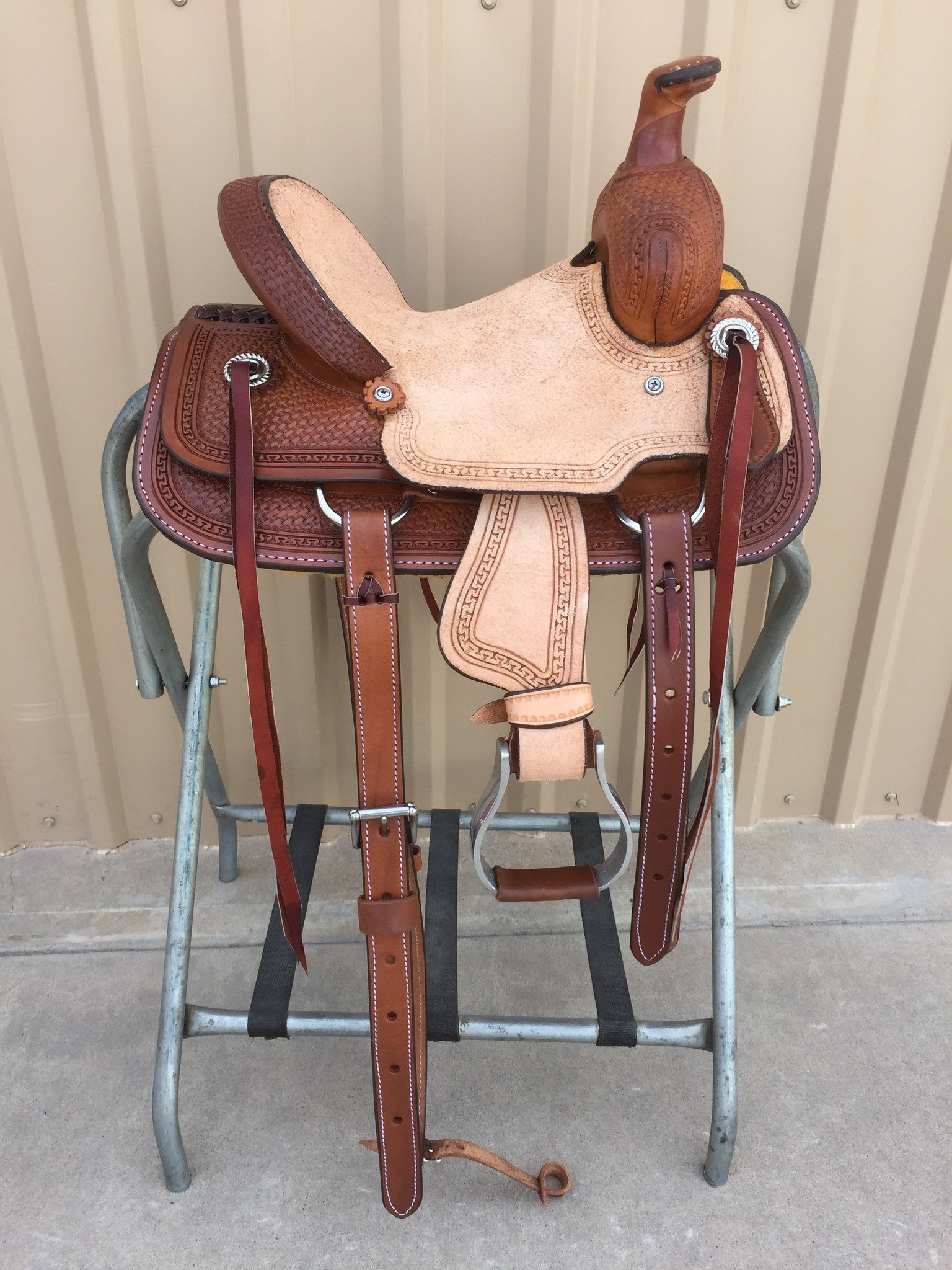"Corriente 10"" Youth Kids Buckaroo SB701-A - The Sale Barn - 1"