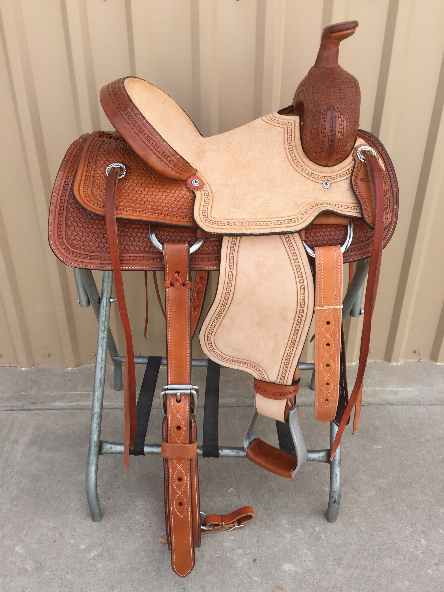 "Corriente 13"" Youth Kids Buckaroo SB705-A - The Sale Barn - 1"