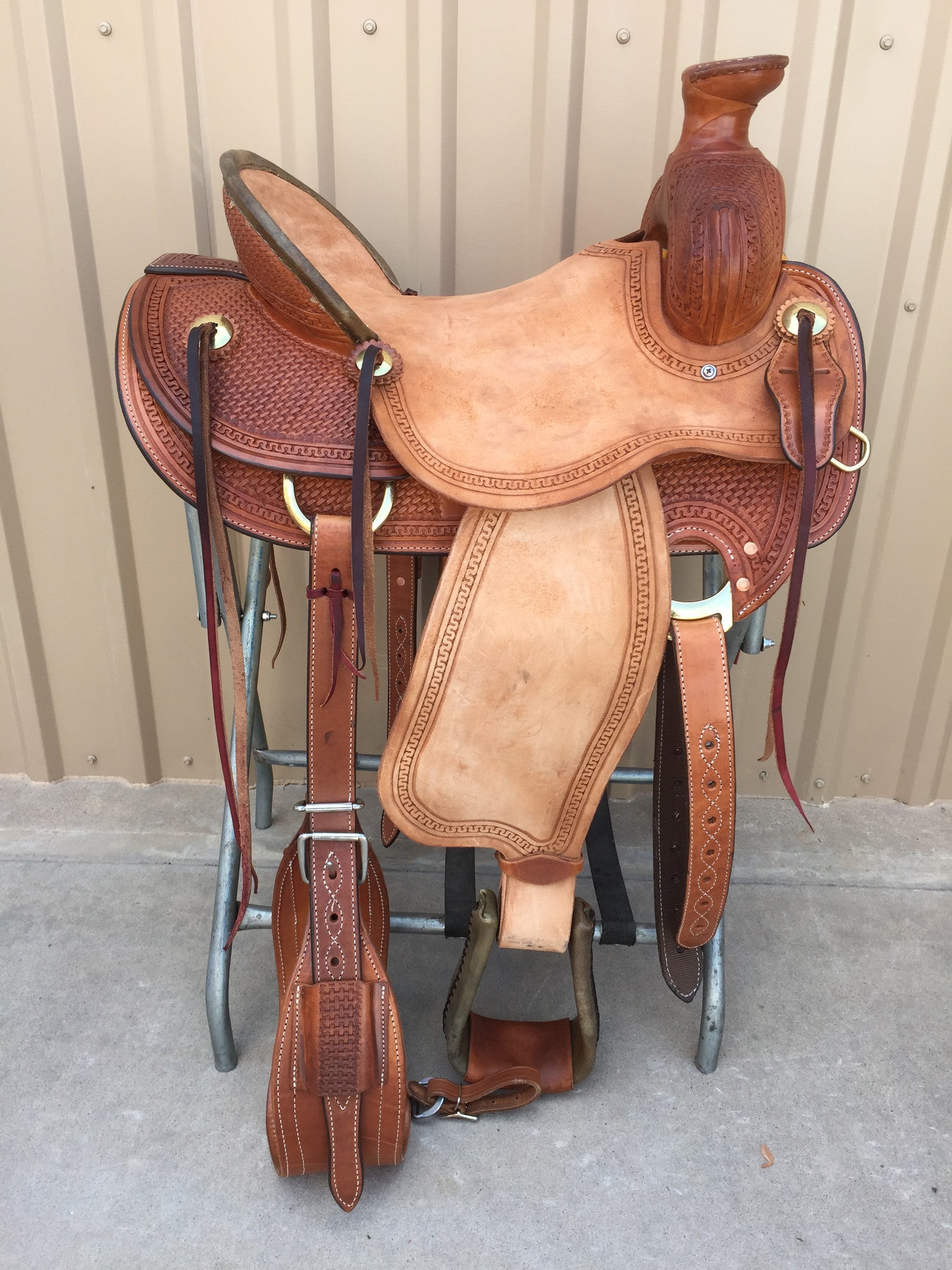 Corriente Ranch Association Saddle SB336 - The Sale Barn - 1