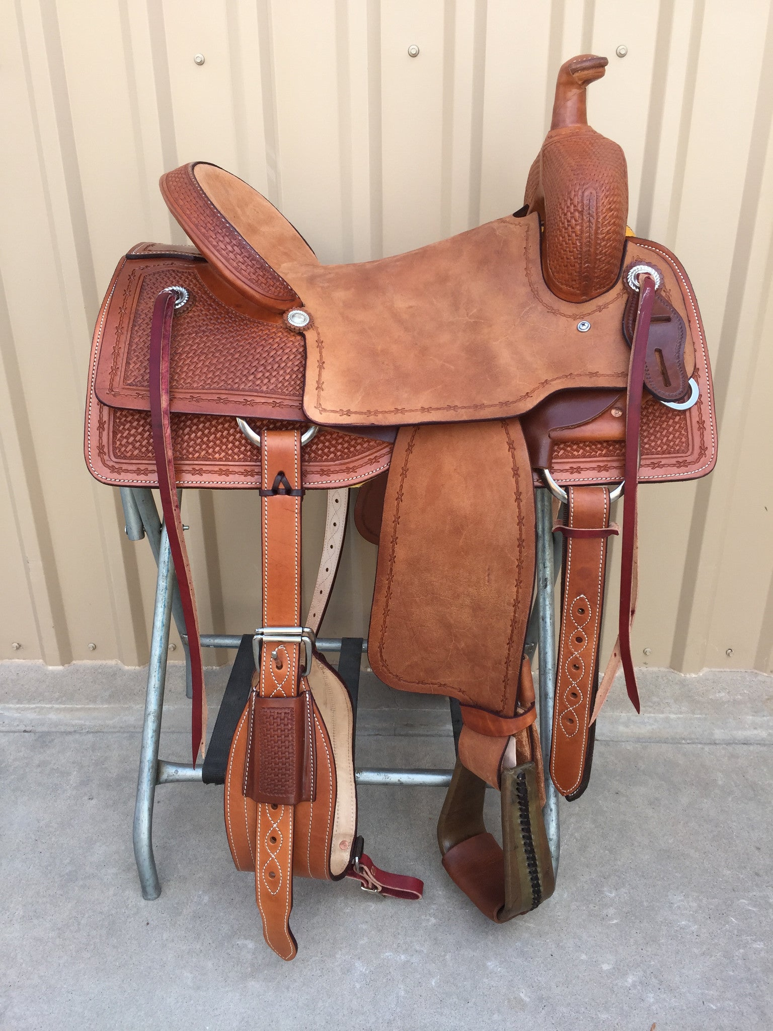 Corriente Ranch Cutter Sorting Saddle SB933 - The Sale Barn - 1