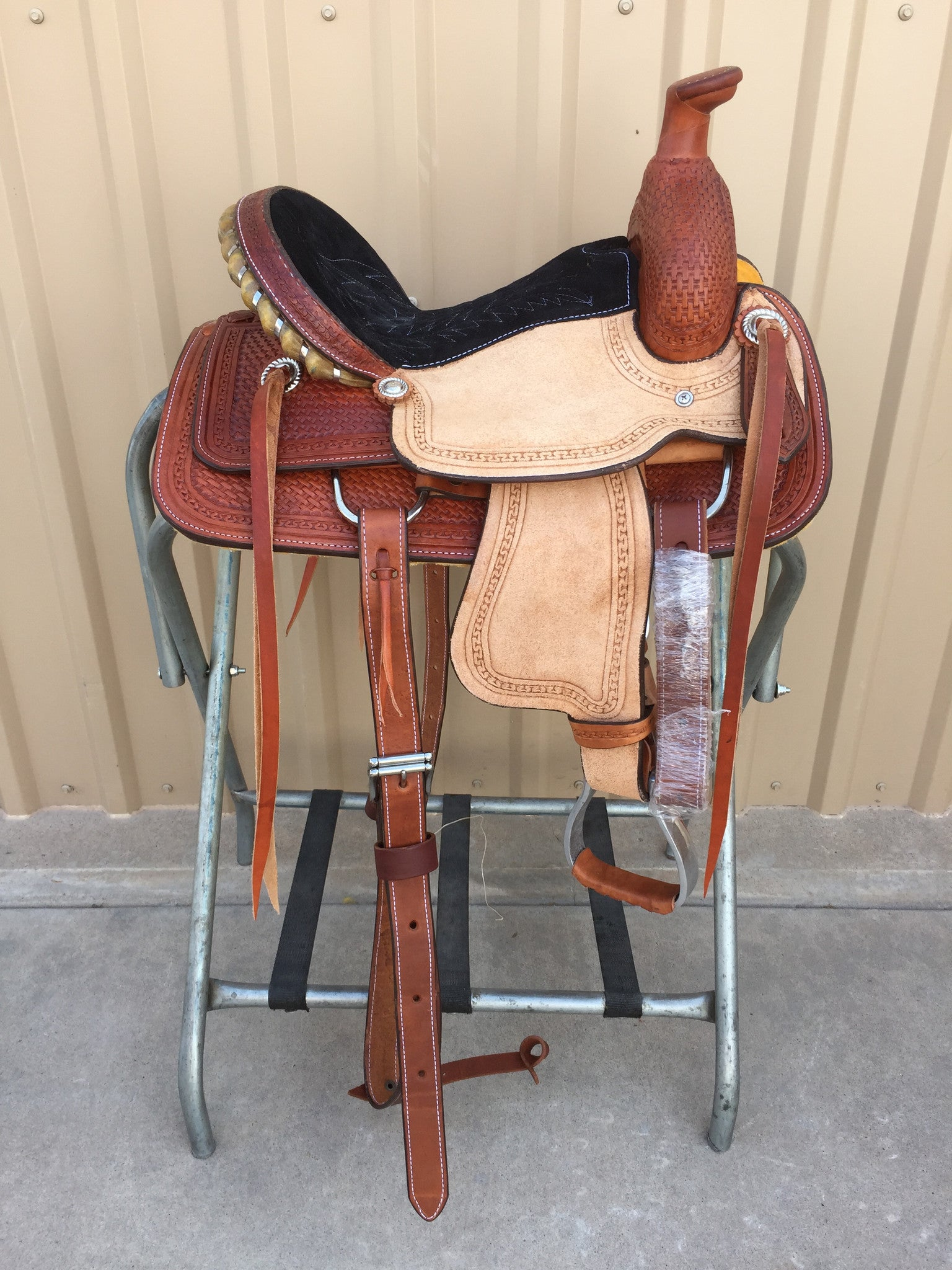 "Corriente 12"" Youth Kids Roper SB717 - The Sale Barn - 1"
