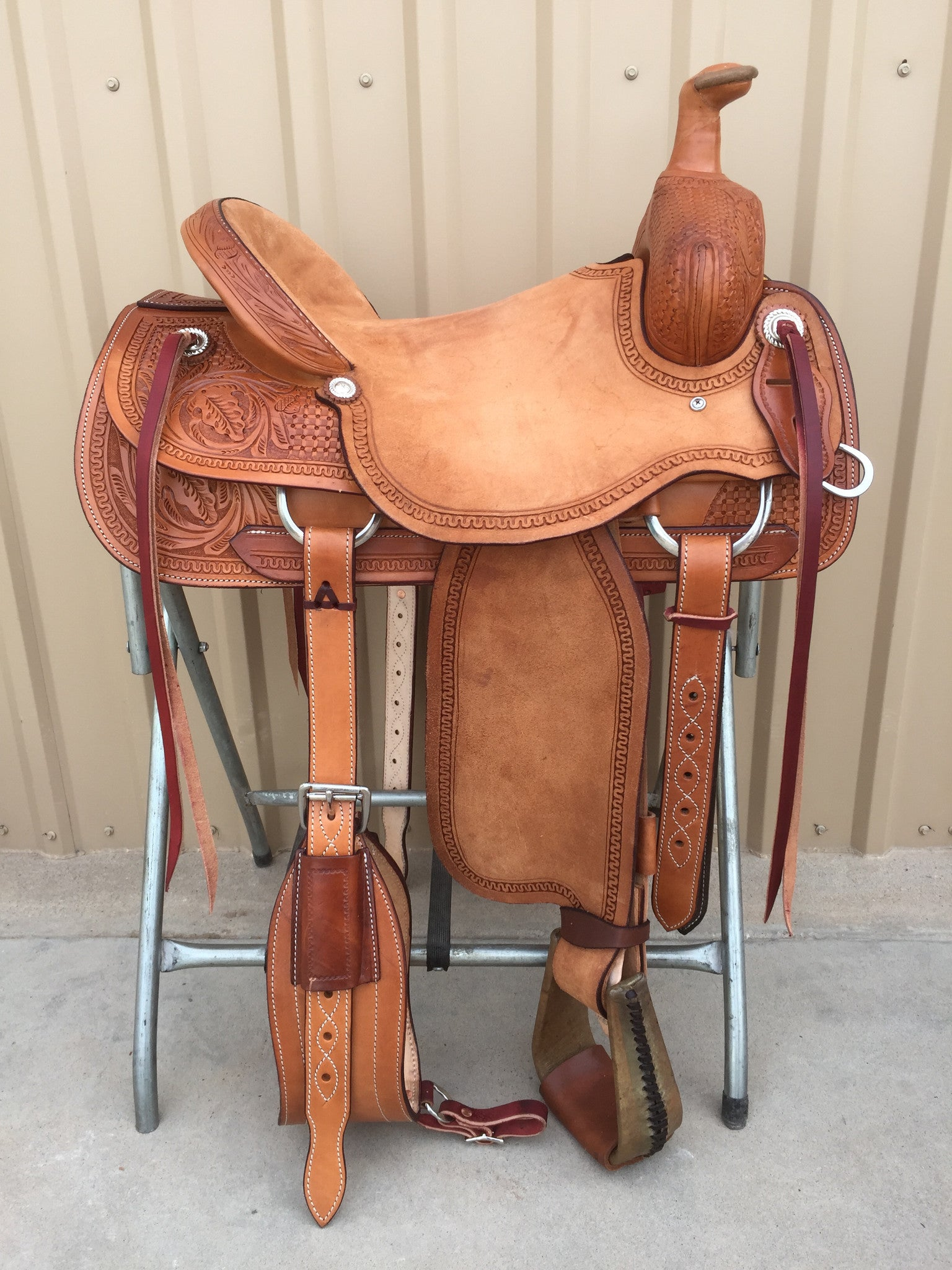 Corriente Ranch Association Saddle SB329 - The Sale Barn - 1