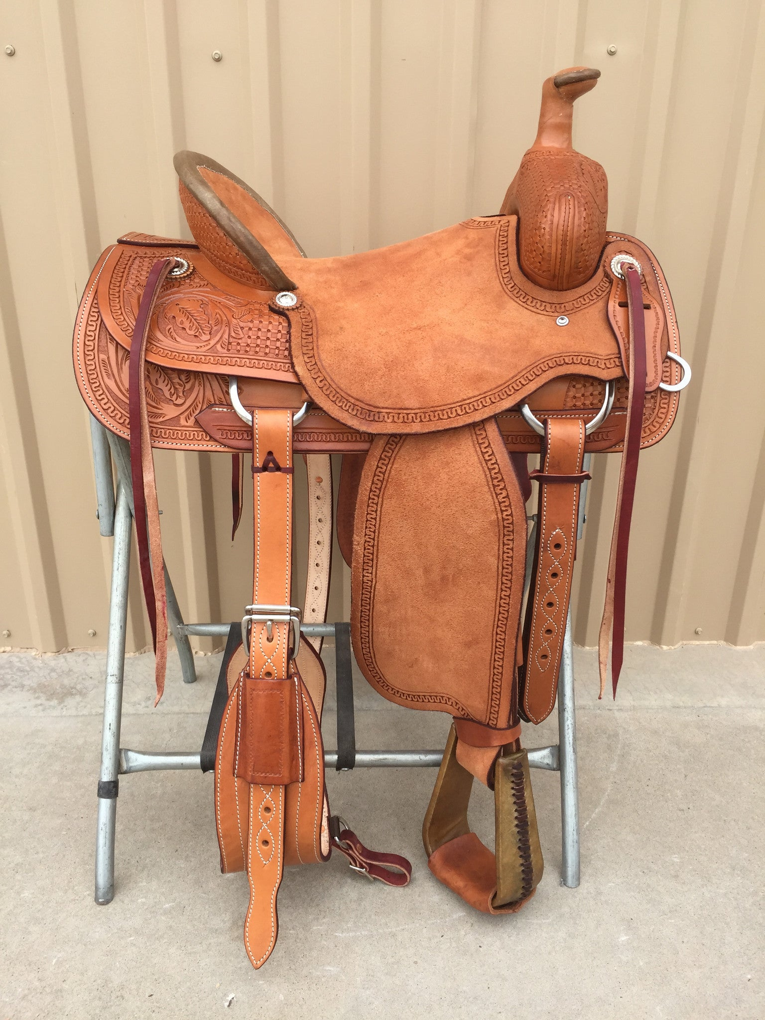 Corriente Ranch Association Saddle SB330 - The Sale Barn - 1