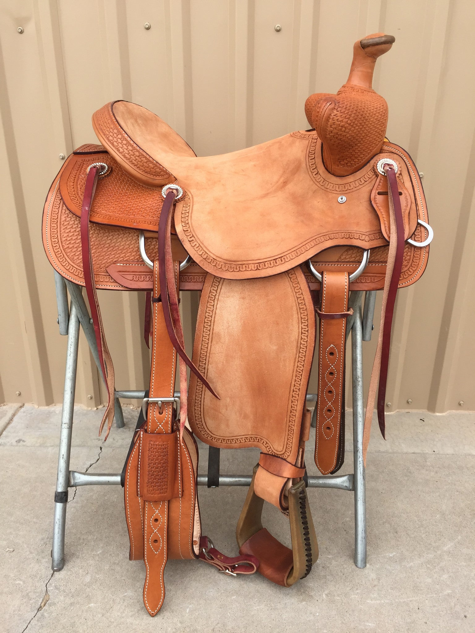 Corriente Beartrap Saddle SB1010 - The Sale Barn - 1