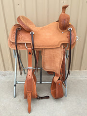 Corriente Ranch Will James Association Saddle SB360 - The Sale Barn - 1