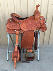 Corriente Team Roping Saddle SB103 - The Sale Barn - 1