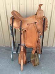 Corriente Ranch Strip Down Will James Association Saddle SB366 - The Sale Barn - 1