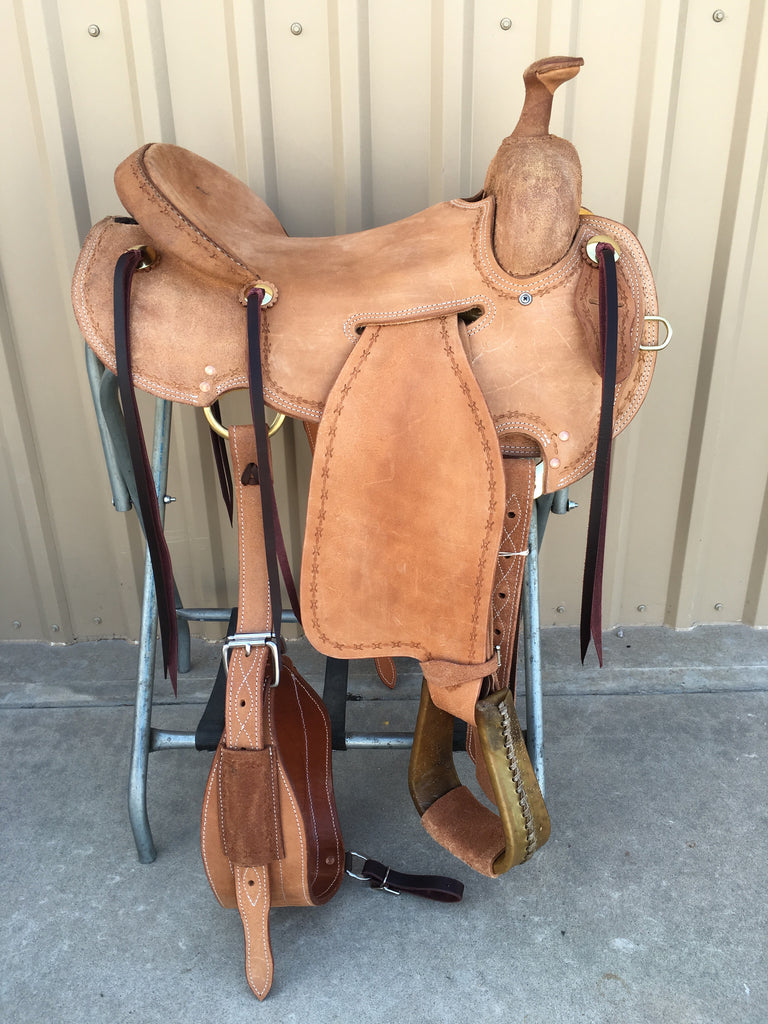 Corriente Strip Down Team Roping Saddle SB119A