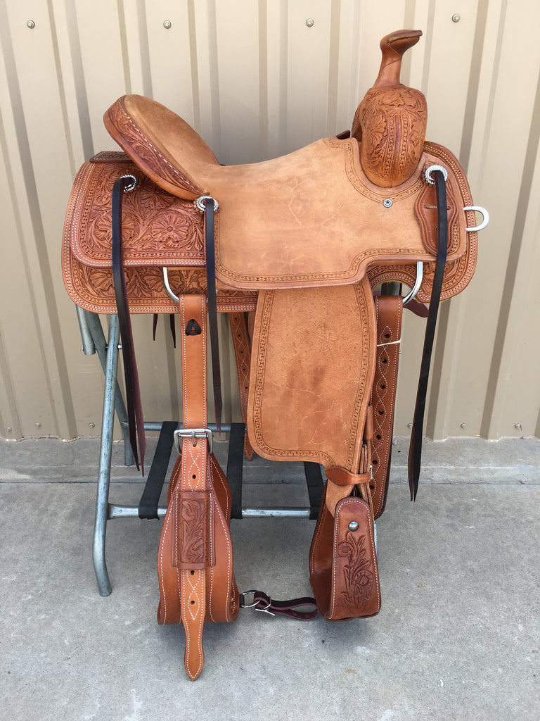 Corriente Ranch Will James Association Saddle SB376