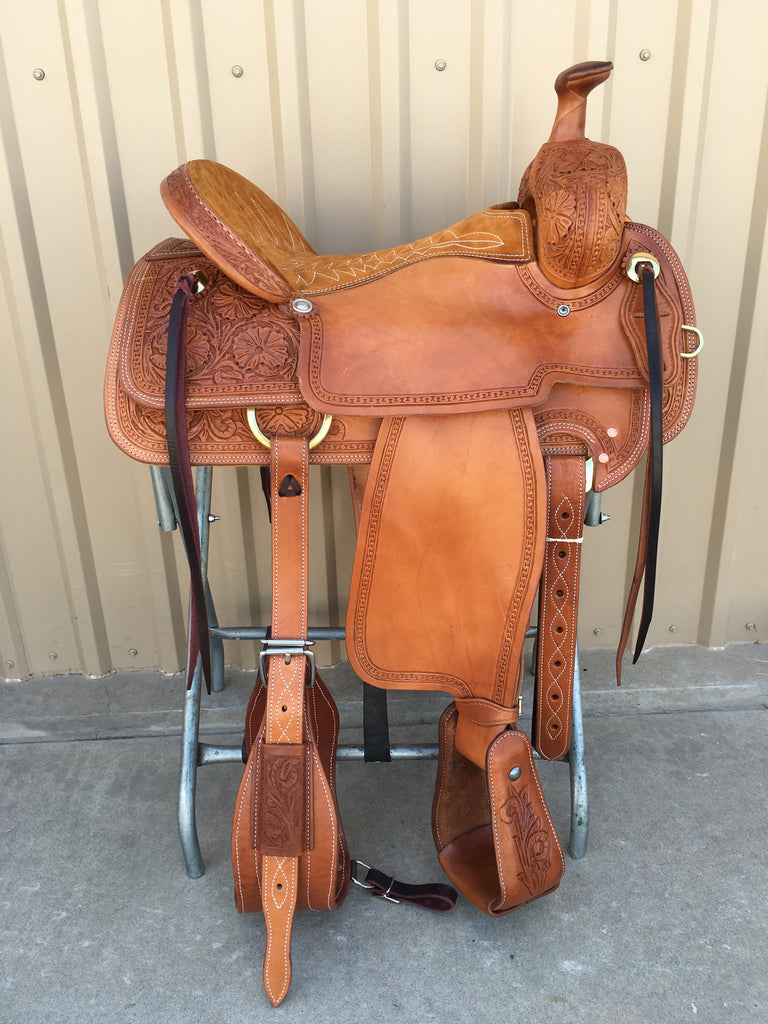 Corriente Ranch Will James Association Saddle SB377