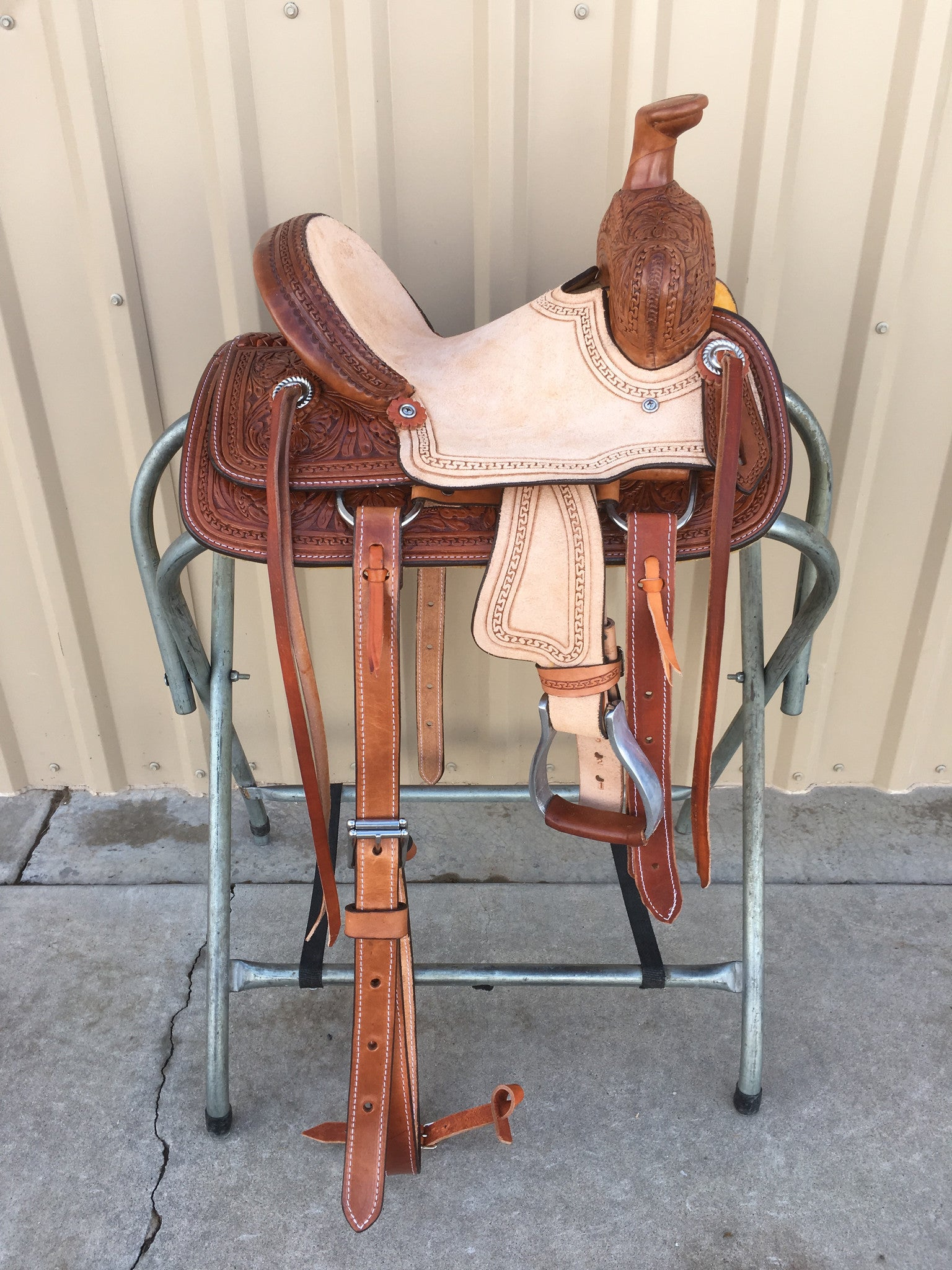 "Corriente 10"" Youth Kids Buckaroo SB701-C - The Sale Barn - 1"