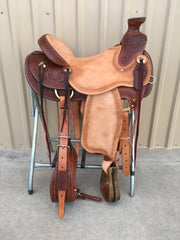Corriente Ranch Wade Saddle SB403 - The Sale Barn - 1