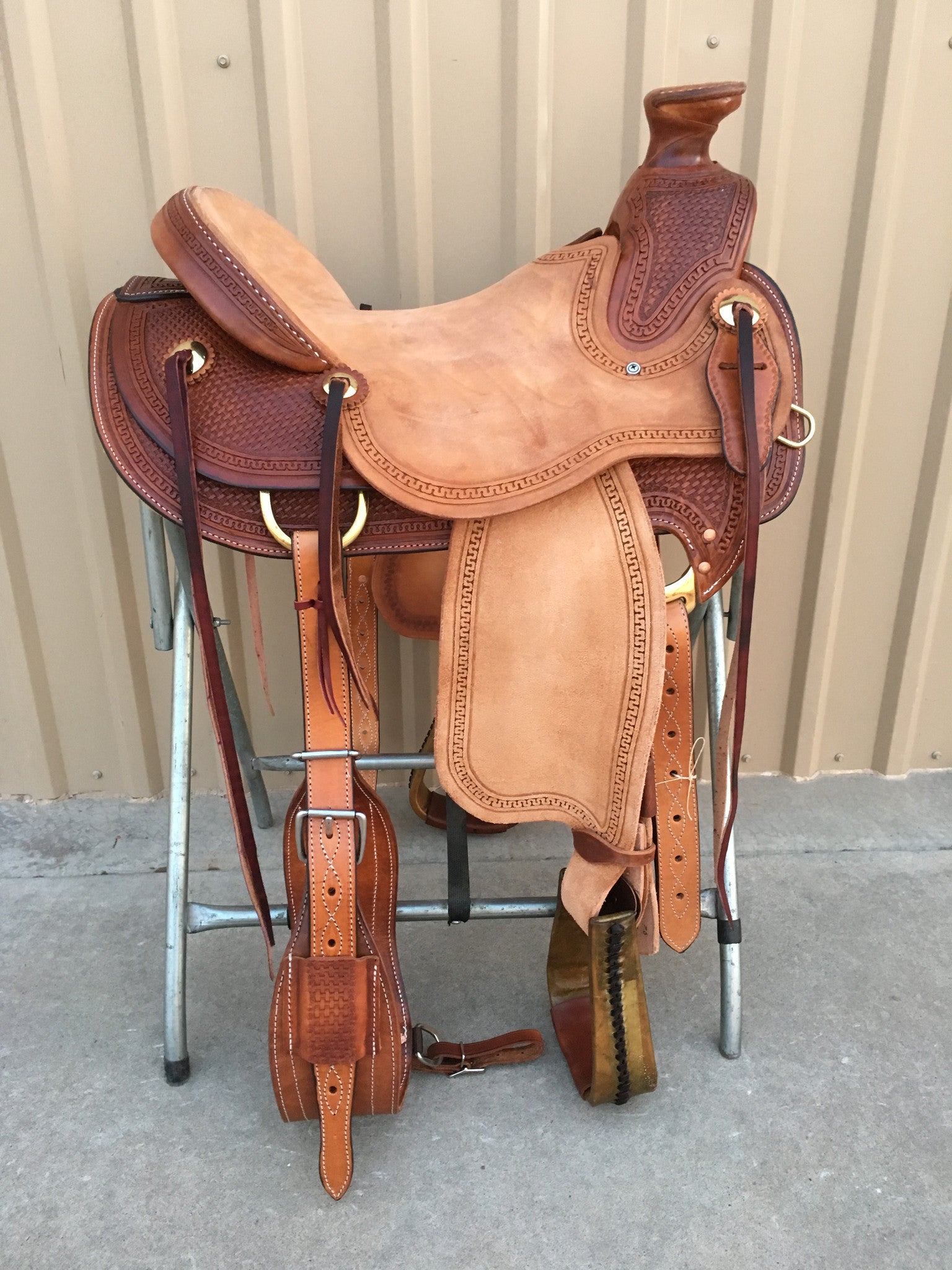 Corriente Ranch Wade Saddle SB406 - The Sale Barn - 1