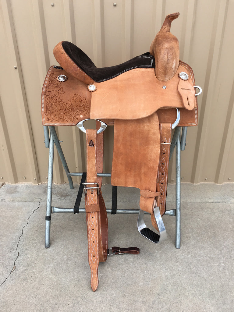 Corriente Barrel Racing Saddle SB551