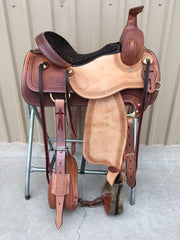 Corriente Ranch Association Saddle SB312 - The Sale Barn - 1
