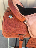 Corriente Team Roping Saddle SB138 - The Sale Barn - 5