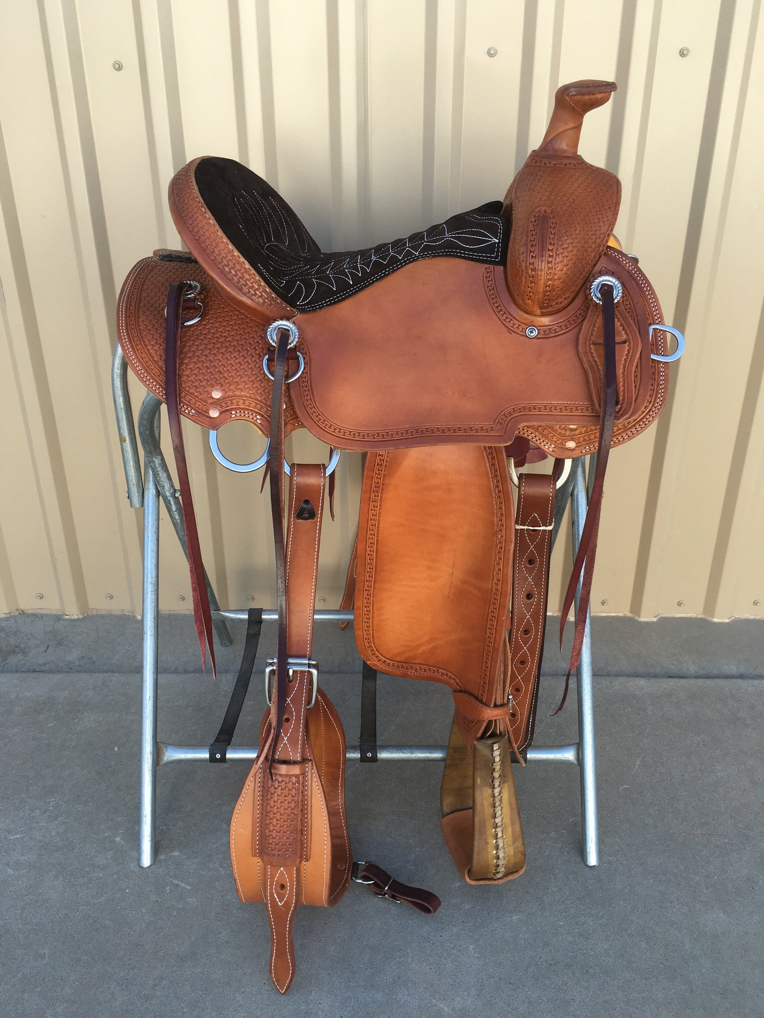 Corriente Mule Saddle SB1000 - The Sale Barn - 1