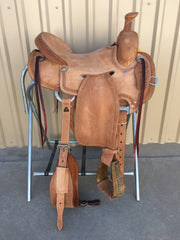 Corriente Strip Down Team Roping Saddle SB119 - The Sale Barn - 1