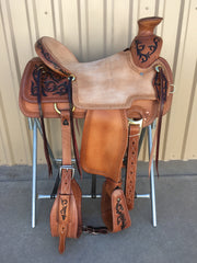 Corriente Ranch Wade A-Fork Saddle SB439 - The Sale Barn - 1
