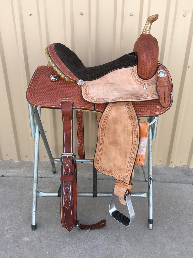 Corriente Barrel Racing Saddle SB516