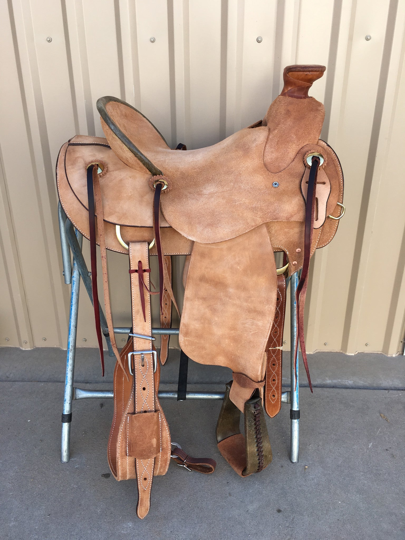 Corriente Ranch Wade Saddle SB426 - The Sale Barn - 1