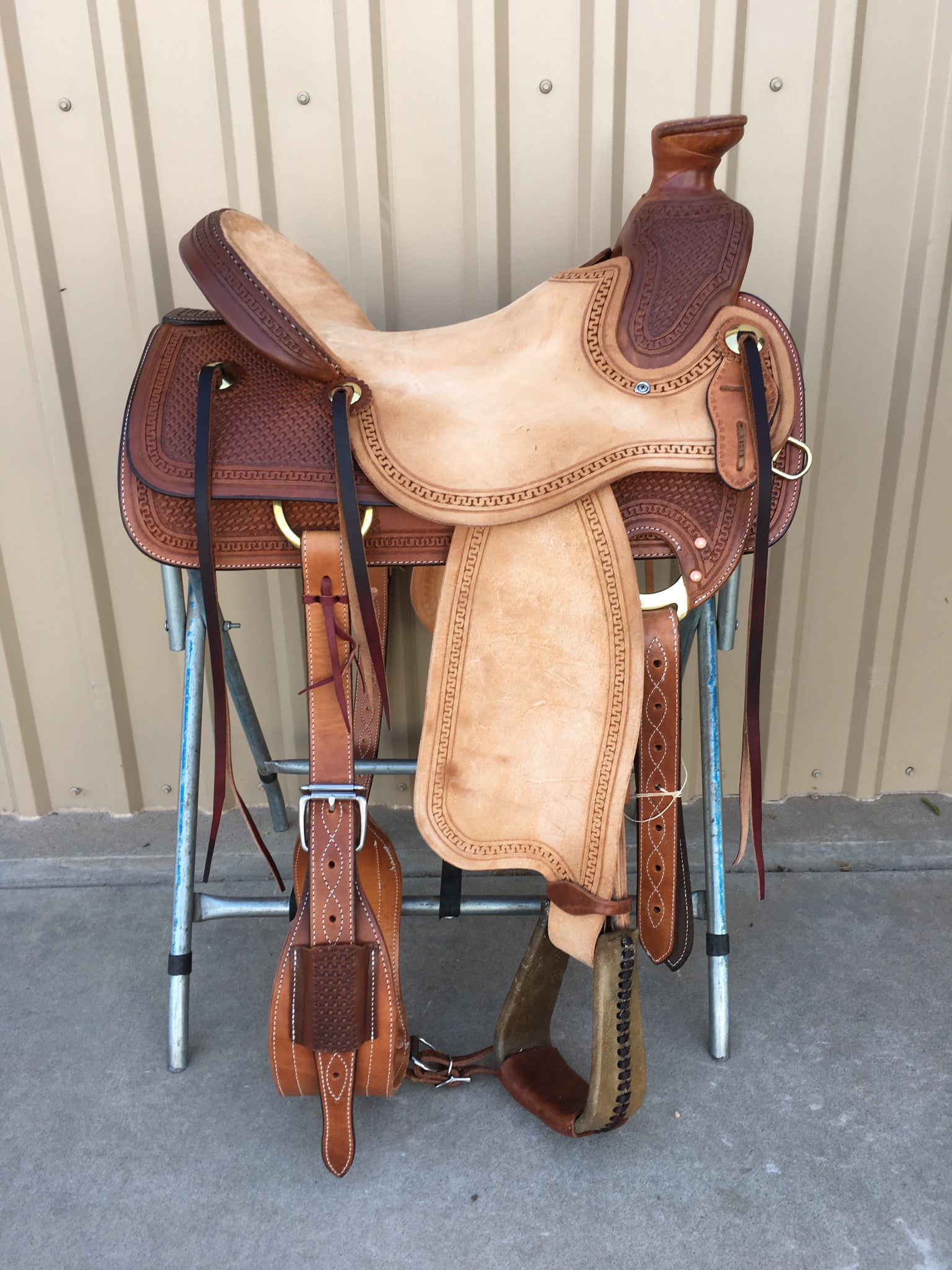Corriente Ranch Wade Saddle SB406-A - The Sale Barn - 1