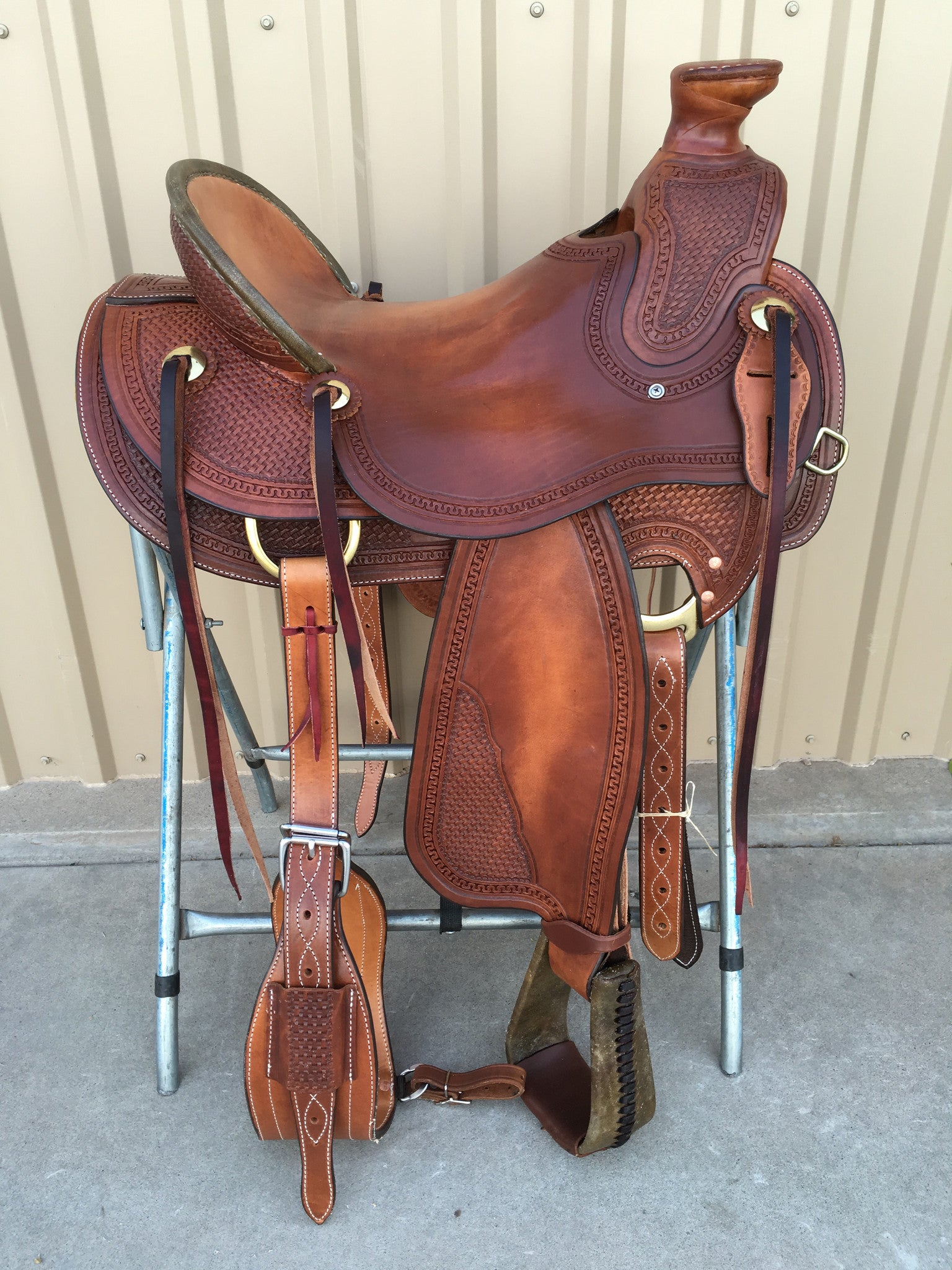 Corriente Ranch Wade Saddle SB407-A - The Sale Barn - 1