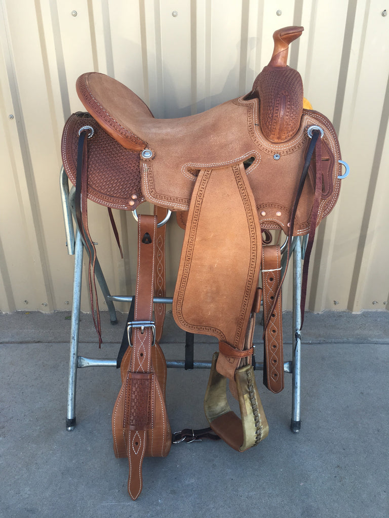 Corriente Strip Down Team Roping Saddle SB119C