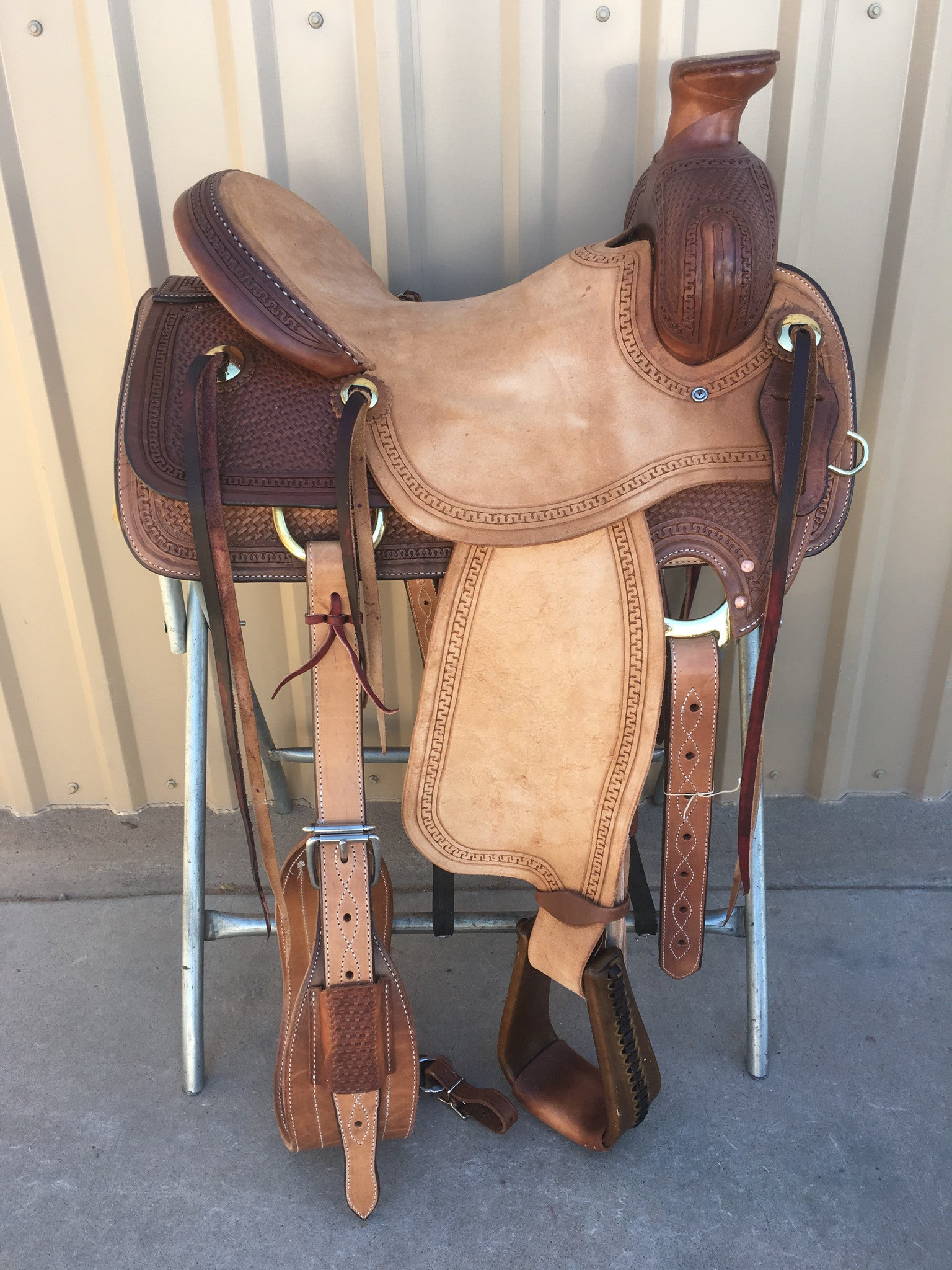 Corriente Ranch Association Saddle SB336A - The Sale Barn - 1