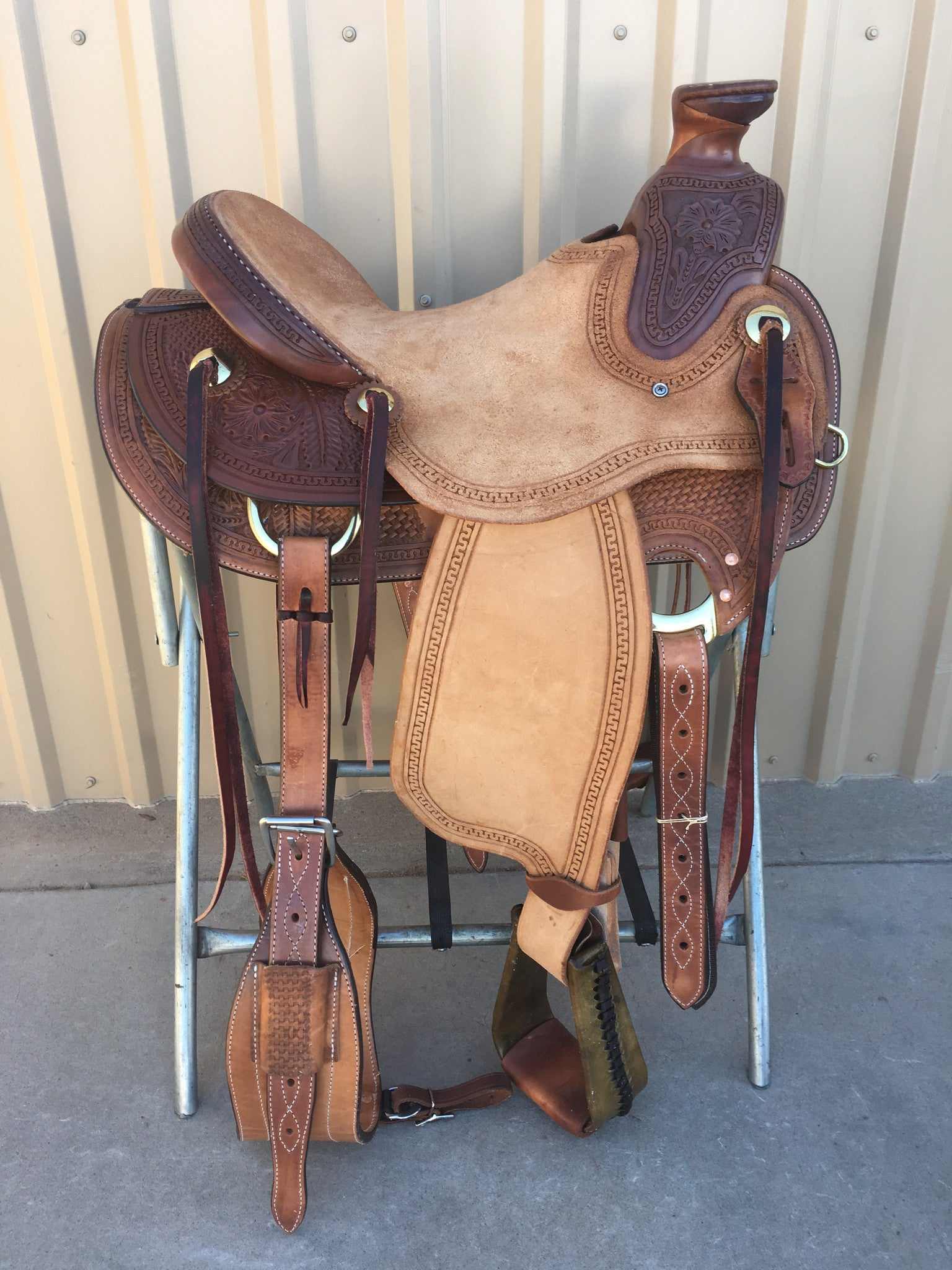 Corriente Ranch Wade Saddle SB408 - The Sale Barn - 1