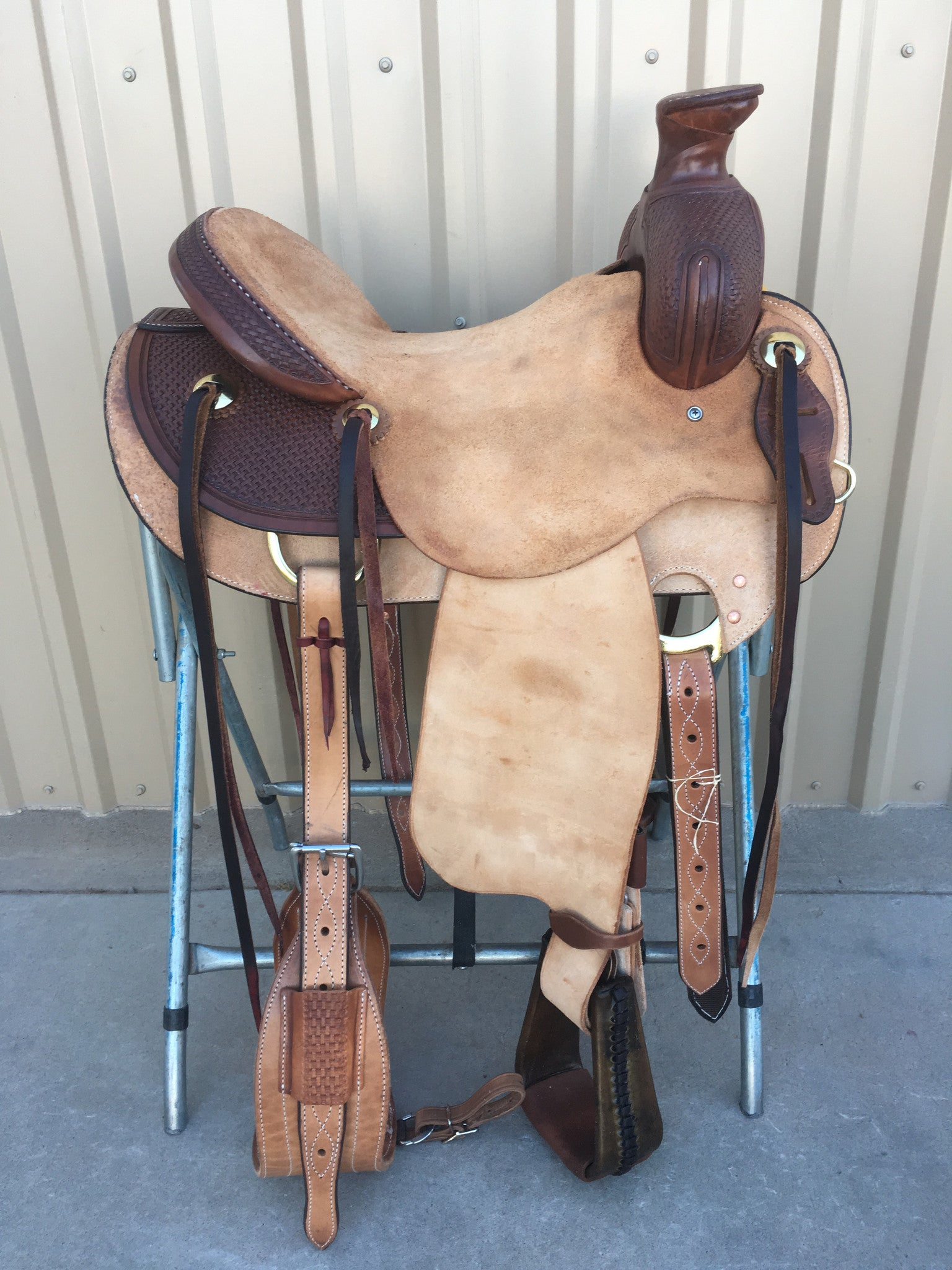 Corriente Ranch Association Saddle SB338 - The Sale Barn - 1
