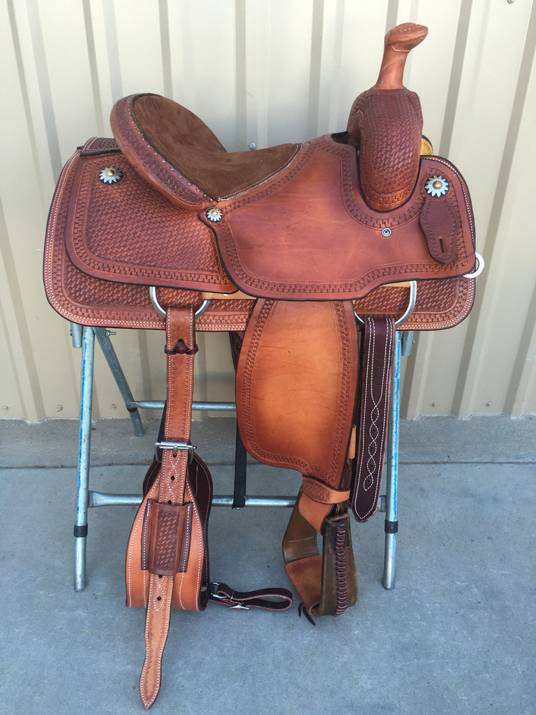 Corriente Team Roping Saddle SB109A
