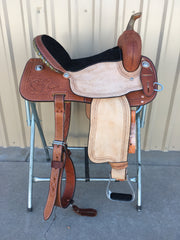 Corriente Barrel Racing Saddle SB506 - The Sale Barn - 1