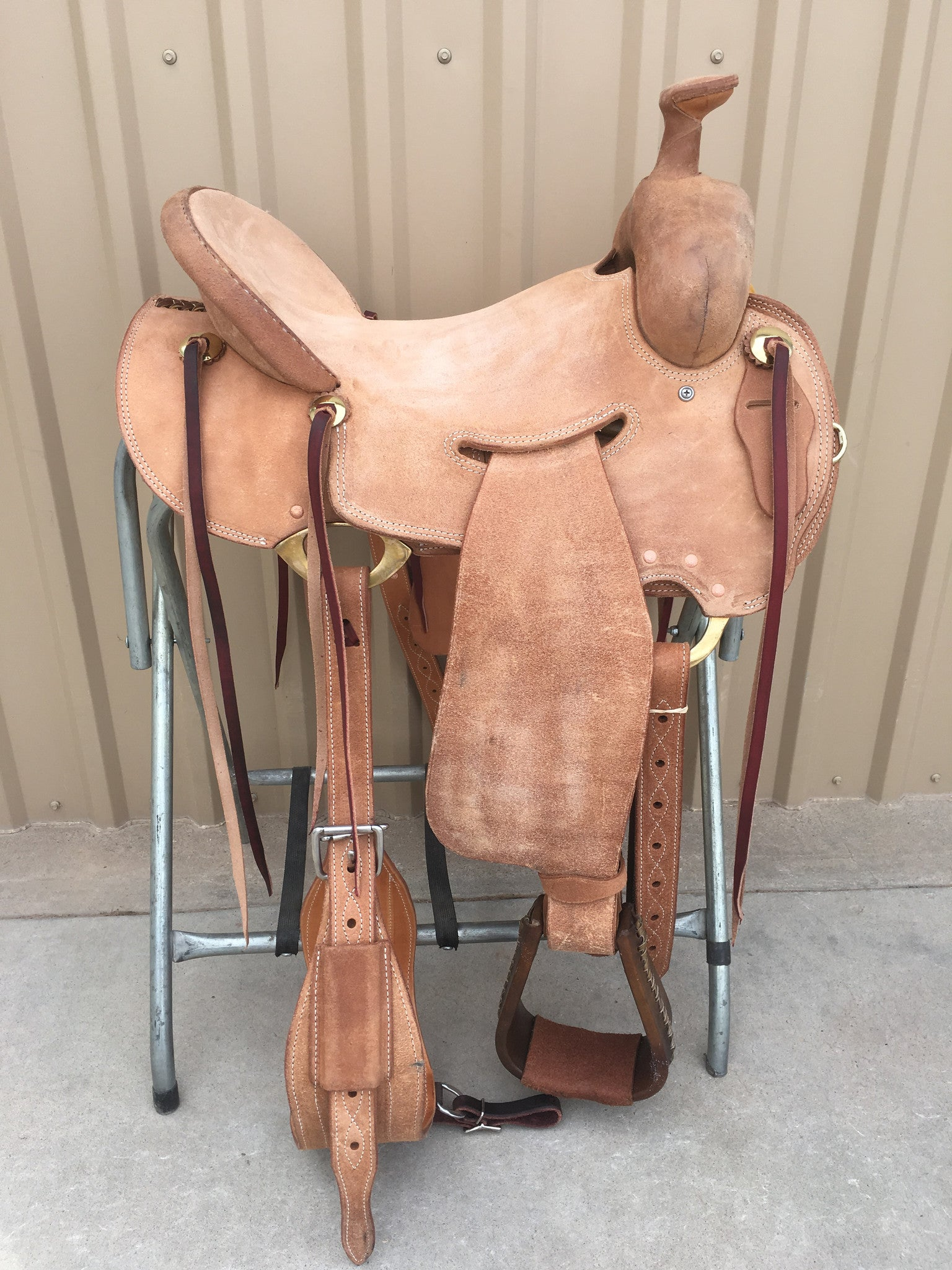 Corriente Ranch Strip Down Will James Association Saddle SB390 - The Sale Barn - 1