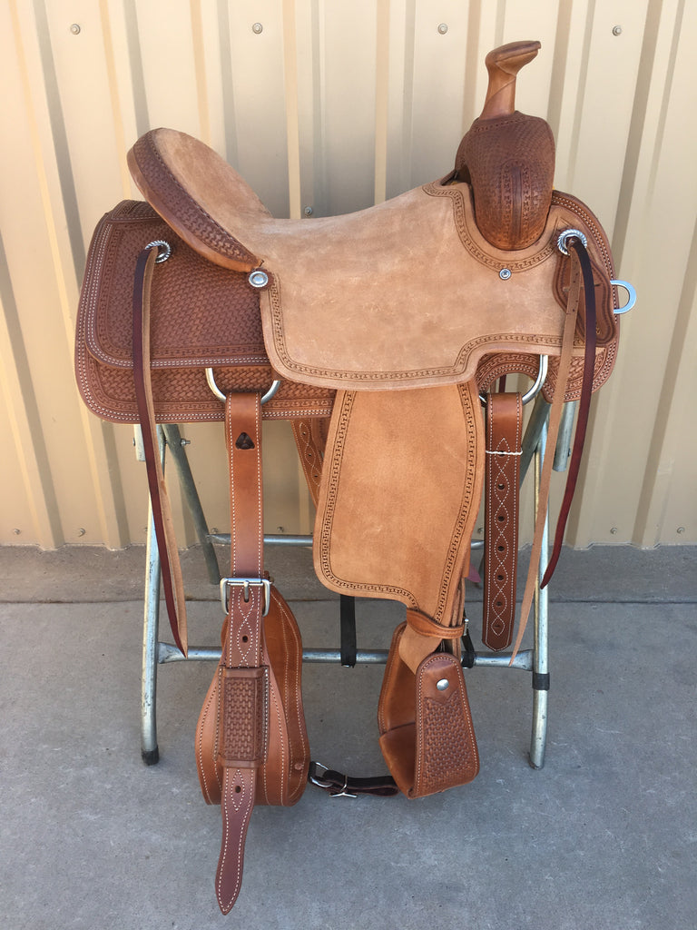 Corriente Ranch Will James Association Saddle SB370