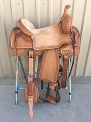 Corriente Ranch Cutter Sorting Saddle SB919 - The Sale Barn - 1