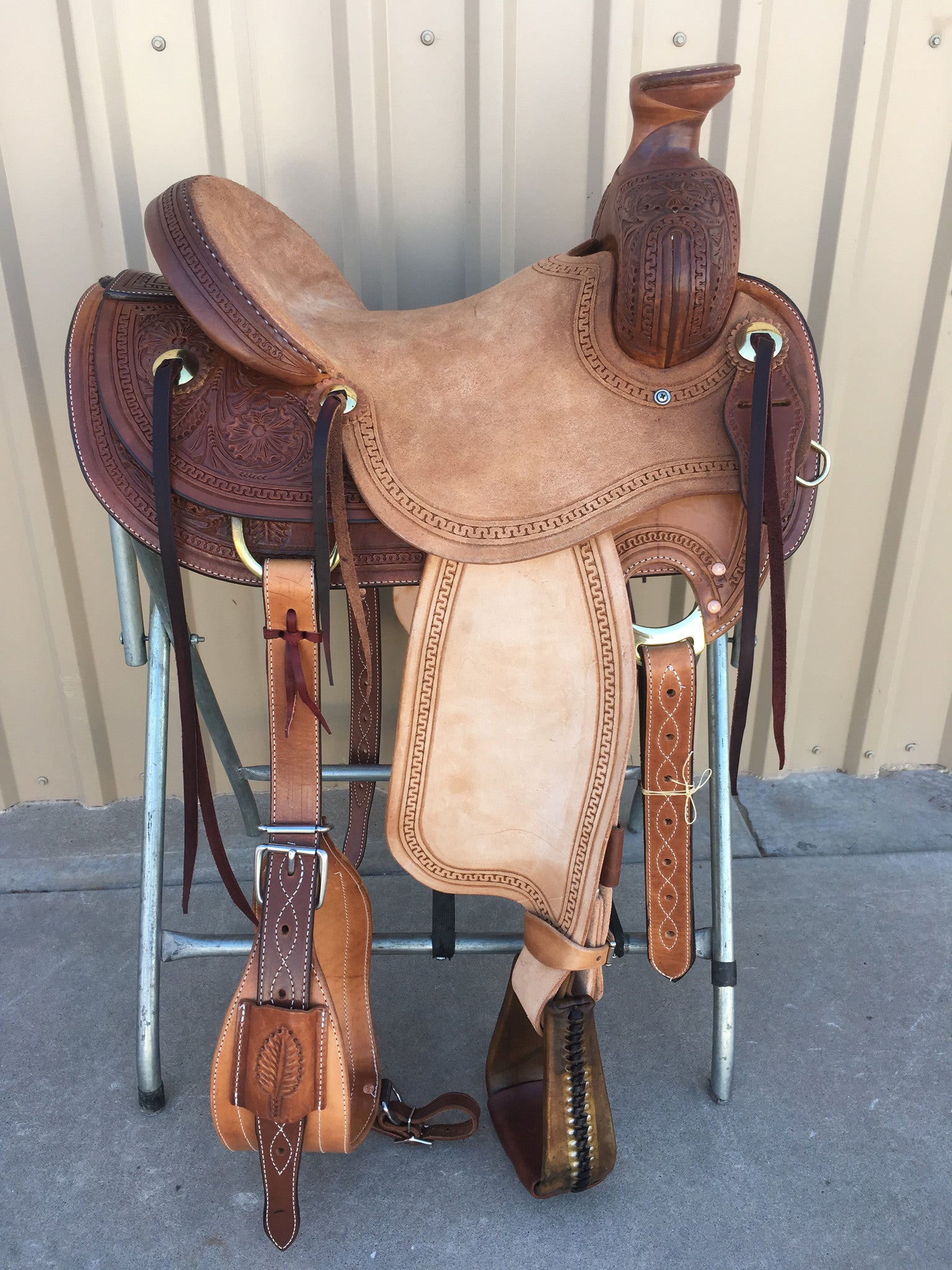 Corriente Ranch Association Saddle SB339 - The Sale Barn - 1