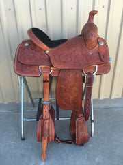 Corriente Team Roping Saddle SB103-B - The Sale Barn - 1